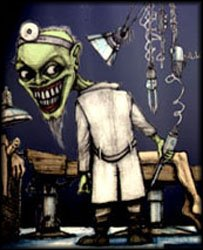 dr stein monster lab mad scientist